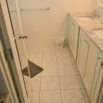 Ceramic Tile Floor & Walls