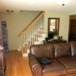 Staircase/Living Room (After)
